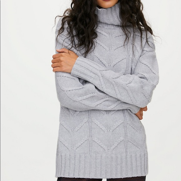 Wilfred Champeaux Sweater - Heather Light Grey